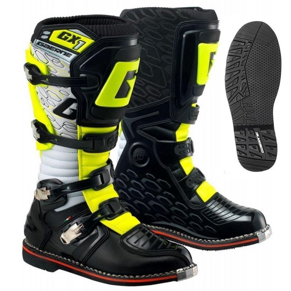 Gaerne - GX-1 Enduro Black/Yellow мотоботы, черно-желтые