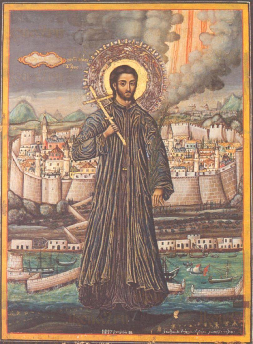 Икона Константин Идрийский мученик
