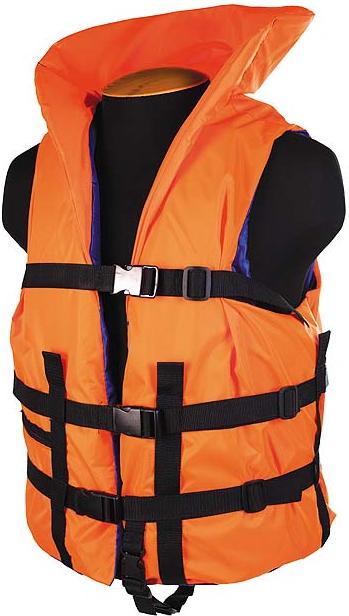 Жилет спасательный с подголовником SM-032 до 120кг, размер (54-58)