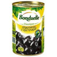 Маслины BONDUELLE с косточкой, 300 г