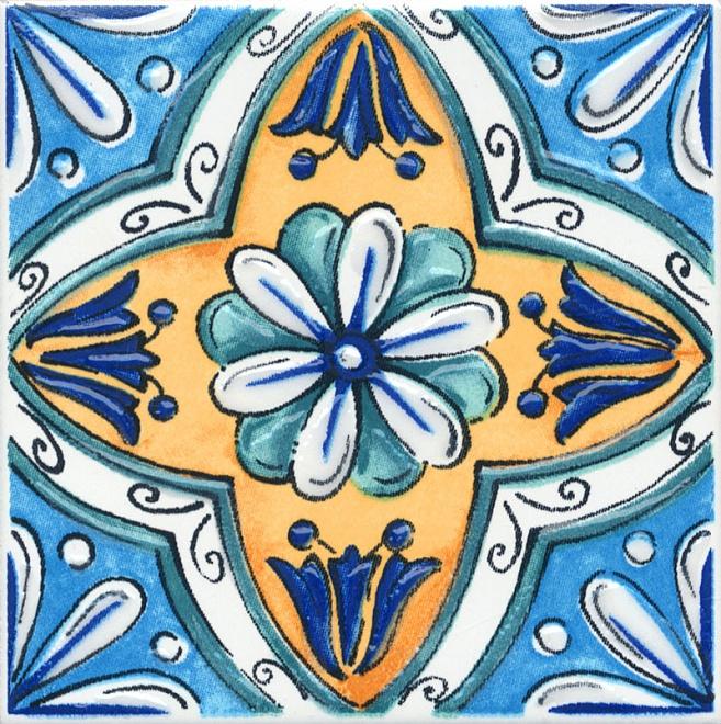 STG/A456/5232   Декор Капри майолика