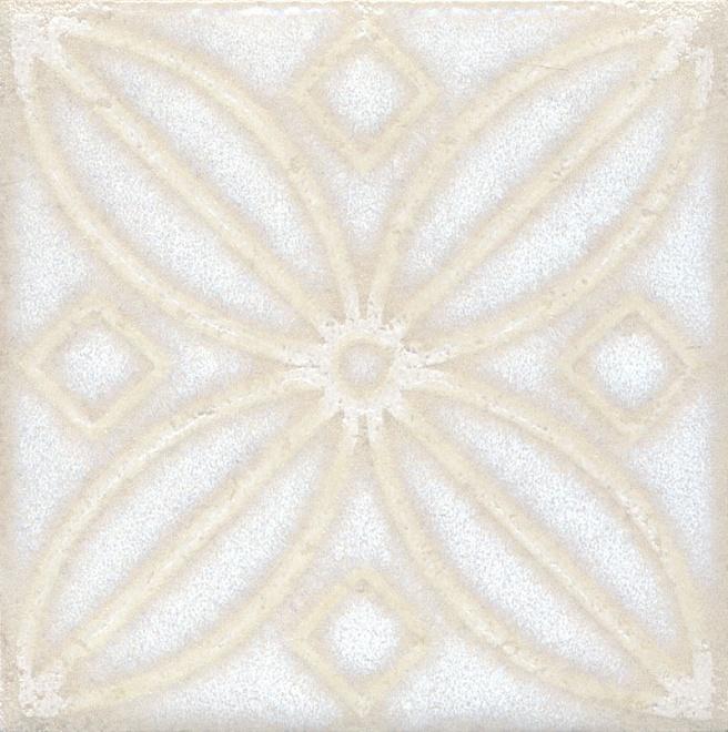 STG/B402/1266 | Вставка Амальфи орнамент белый