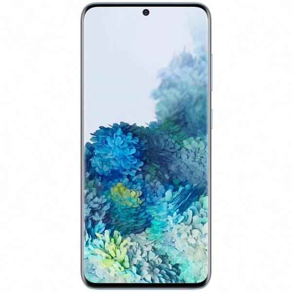 "Samsung Galaxy S20, 6.2"", 8/128 ГБ, 8K, 4000 мА/ч (голубой)"