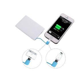 Портативный аккумулятор Power Bank Credit Card 2500mAh