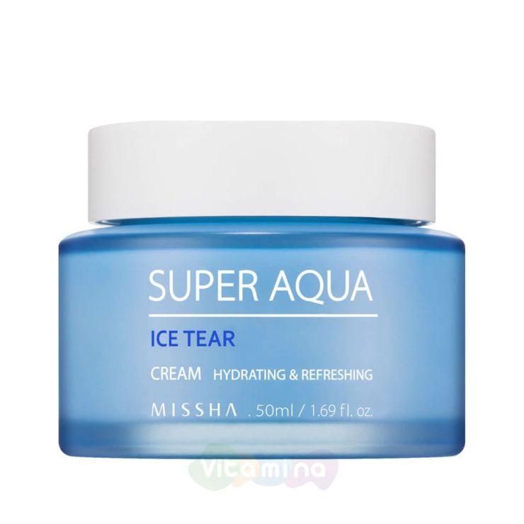 Missha Освежающий крем для лица Super Aqua Ice Tear Cream, 50 мл