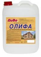 Олифа Диво Оксоль 5л на Натуральном Растительном Масле для Внутренних и Наружных Работ
