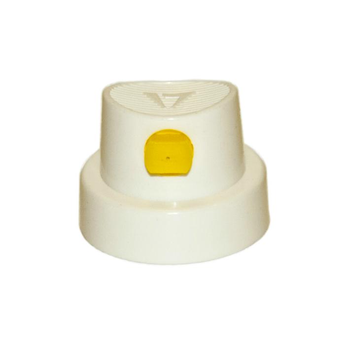 """Auton Распылитель для аэрозольного баллона """"Lindal"""", цвет: бело - желтый, поворотный, 320.10.024.018 FAN"""