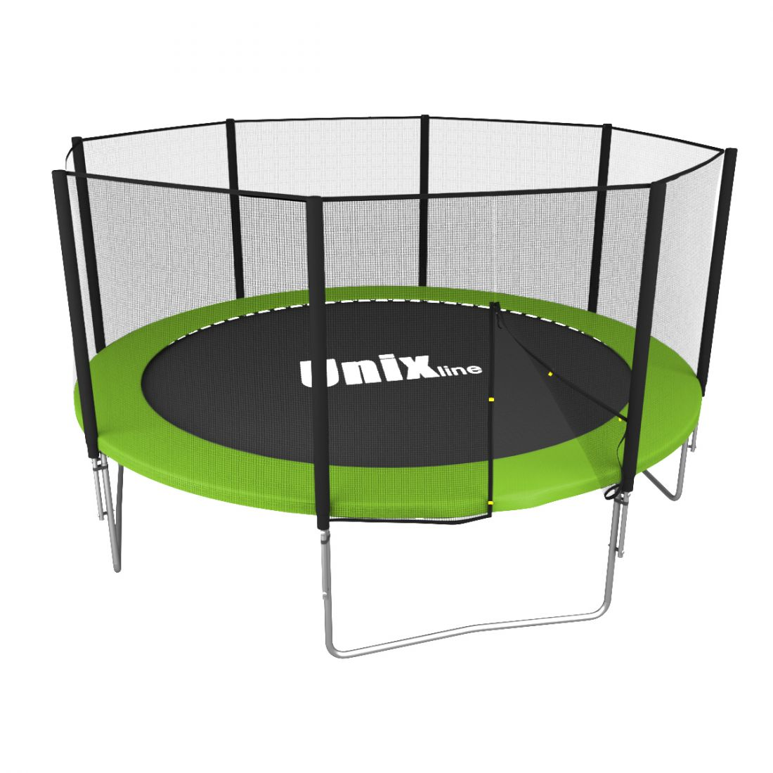 Батут Unix line Simple 10 ft Color/Green (outside)