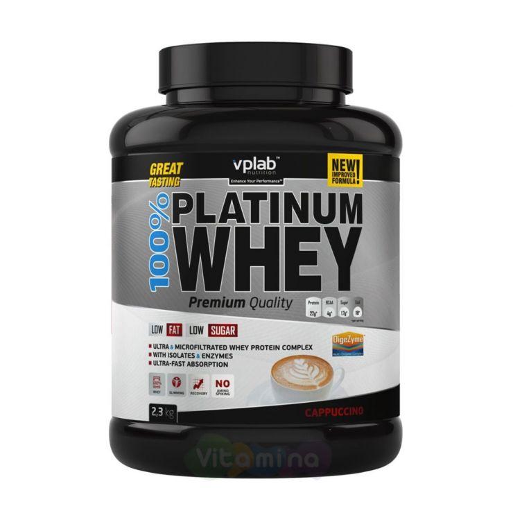 VPLab Сывороточный протеин 100% Platinum Whey, 2300 гр