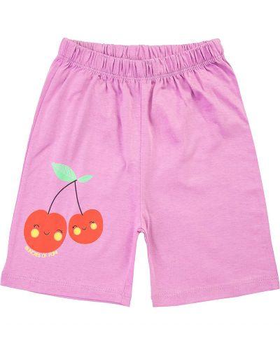 Шорты для девочек 1-5 лет Bonito kids лиловые