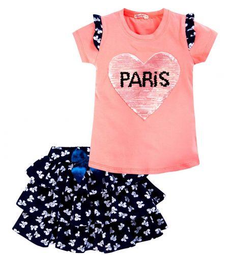 """Костюм для девочек 3-7 лет BONITO kids """"Paris"""" розовый"""