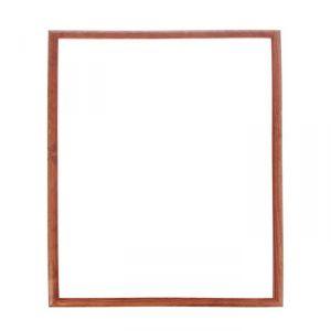 Рама для зеркал и картин, 50 х 70, ширина 2,6 см, Berta, орех