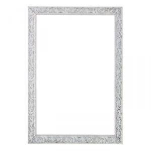 Рама для зеркал и картин из дерева, 59,4 х 84,1 х 4 см, цвет бело-серебристый