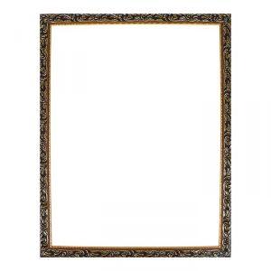 Рама для зеркал и картин из дерева, 70 х 90 х 4.0 см, цвет золотой