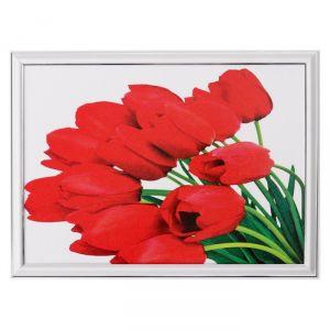 """Картина  """"Букет красных тюльпанов"""" 28х38 см   4670789"""