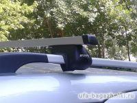 Багажник (поперечины) на рейлинги на Chery Indis, Атлант, прямоугольные дуги