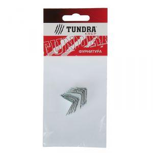 Кронштейн TUNDRA krep МК, 20х20 мм, покрытие цинк, 8 шт. 3857326