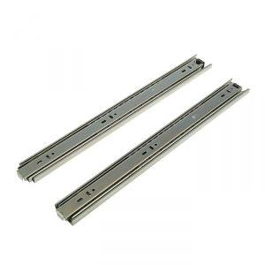 Шариковые направляющие усиленные полного выдвижения, L=400 мм, Н=45 мм, 2 шт. в наборе 2132849