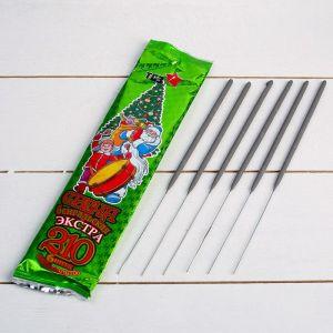 """Набор бенгальских свечей """"Экстра"""", 21 см, в упаковке 6 шт   4483414"""