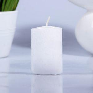 Свеча парафиновая цилиндр белая 40 Н-60 2463647