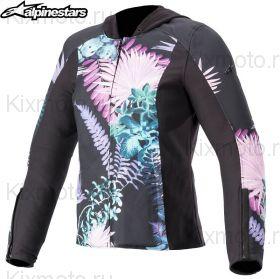 Куртка женская Alpinestars Bond, Черно-розовая