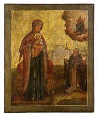 Икона Богородица Овиновская Россия до 1868 года