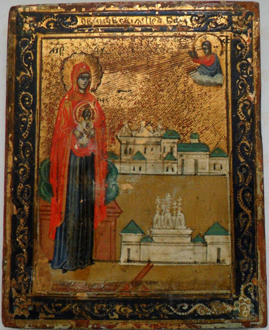 Икона Богородицы Овиновская