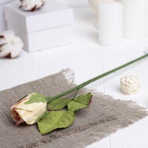 """Искусственный цветок """"Роза"""" нежно-розовая 40 см 3257402"""