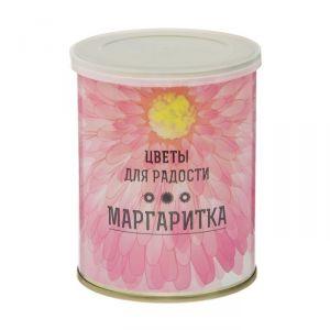 """Растущая травка в банке """"Цветы для радости"""" Маргаритки 2099130"""