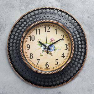 """Часы настенные, серия: Интерьер, """"Bubbles"""" d=29 см, дискретный ход,  микс 2334906"""