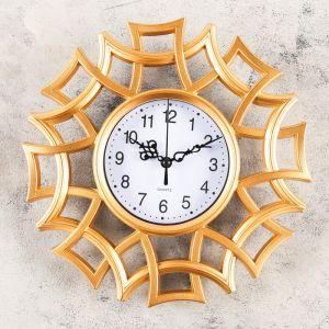 "Часы настенные, серия: Интерьер, ""Аркашон"", 25х25 см, микс    4457343"