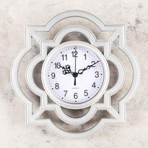 """Часы настенные, серия: Интерьер, """"Дайна"""", 25х25 см, микс   4457341"""