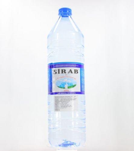 Sirab qazsız su 1.5 plastik