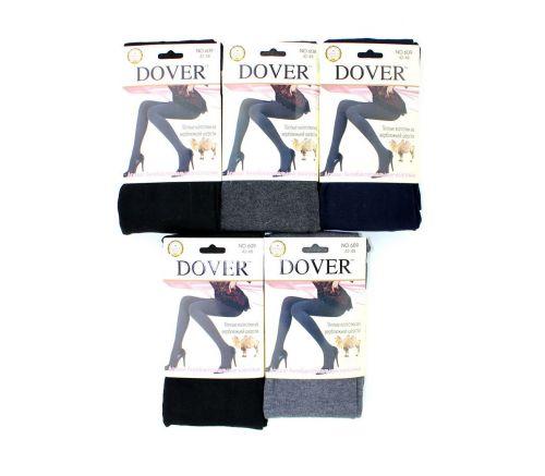 Женские колготки тёплые, шерсть-кашемир Dover DV609