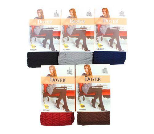Женские колготки тёплые Dover 42-54 DV8847