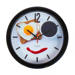 "Часы настенные, серия: Кухня, ""Веселый завтрак"", 28х28 см 2436430"