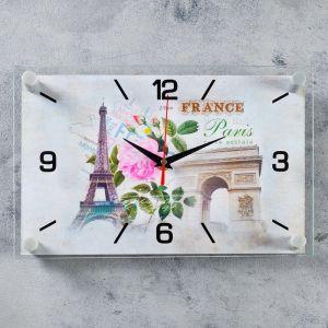 """Часы настенные, серия: Город, """"Paris"""", 20х30 см 4551224"""