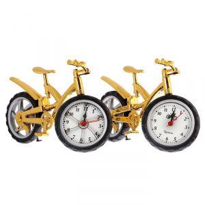 "Будильник ""Велосипед с широкими шинами"", золото, 15х25 см, микс 1622227"