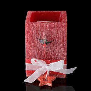 """Часы """"Звездочка"""", прямоугольные, аромат ягод"""