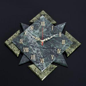 """Часы настенные """"Звездный квадрат"""" , 32х32х4,5 см, змеевик 4204304"""