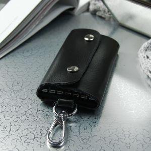 Ключница, 7 карабинов, цвет чёрный
