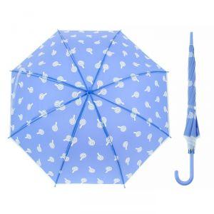 Зонт детский «Леденцы», полуавтоматический, r=45см, цвет голубой