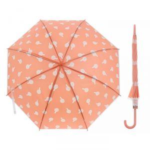 Зонт детский полуавтоматический «Леденцы», r=45см, цвет розовый