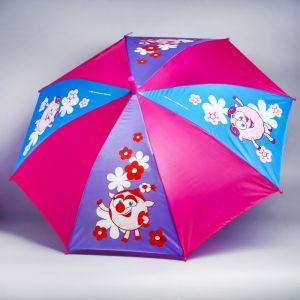 Зонт детский «Отличный день», СМЕШАРИКИ ? 70 см