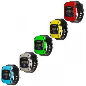 """Часы наручные детские """"Гоночная машинка"""", электронные, с силиконовым ремешком, микс, 22 см 3565217"""