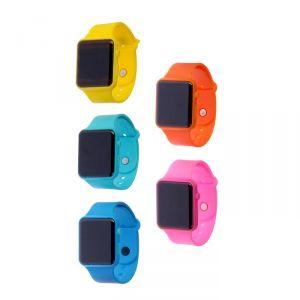 """Часы наручные """"Ларвик"""", электронные, ремешок силикон, микс, l=26 см 2735372"""