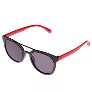 Очки солнцезащитные детские, оправа и дужки дву ? цветные, МИКС, стёкла тёмные, 13.5 ? 13.5 см