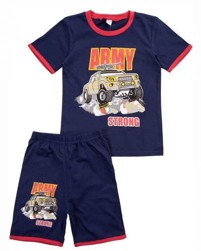 """Комплект для мальчика 4-8 лет BONITO """"Army"""" темно-синий"""