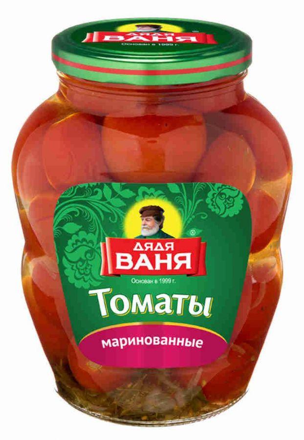 Томаты маринованные ДЯДЯ ВАНЯ, 1800г