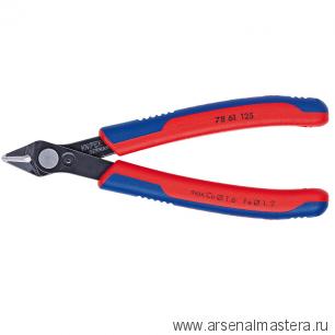 Кусачки (БОКОРЕЗЫ) для электроники прецизионные Electronic Super Knips KNIPEX 78 61 125